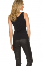 Hanro |  Soft tight top Christine | black  | Picture 5
