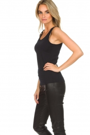 Hanro |  Soft tight top Christine | black  | Picture 4
