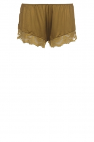 Hanro | Pyjama shorts Micky | groen  | Afbeelding 1