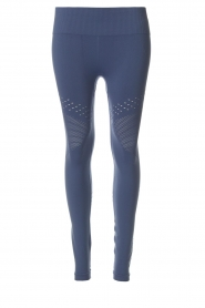 Varley |  Sports leggings with cut-out effects Jill Tight | blue  | Picture 1