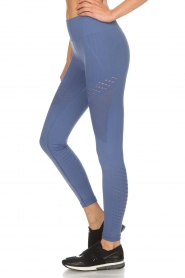 Varley |  Sports leggings with cut-out effects Jill Tight | blue  | Picture 2