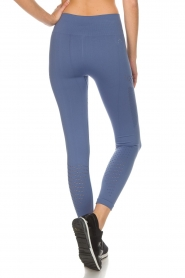Varley |  Sports leggings with cut-out effects Jill Tight | blue  | Picture 4
