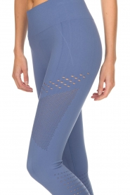 Varley |  Sports leggings with cut-out effects Jill Tight | blue  | Picture 5