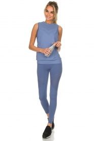 Varley |  Sports leggings with cut-out effects Jill Tight | blue  | Picture 3