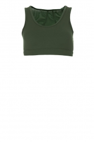 Varley |  Sports bra with mesh details Russel | green  | Picture 1