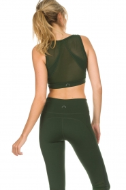 Varley |  Sports bra with mesh details Russel | green  | Picture 6