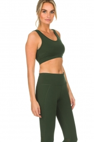 Varley |  Sports bra with mesh details Russel | green  | Picture 5
