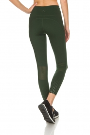 Varley |  Sports leggings decorated with dots Ainsley Tight | green  | Picture 5
