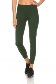 Varley |  Sports leggings decorated with dots Ainsley Tight | green  | Picture 3