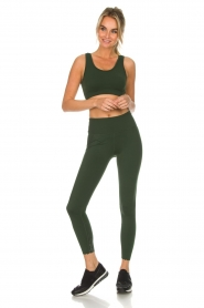 Varley |  Sports leggings decorated with dots Ainsley Tight | green  | Picture 2