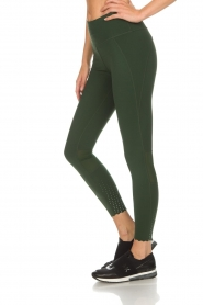 Varley |  Sports leggings decorated with dots Ainsley Tight | green  | Picture 4
