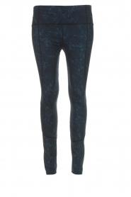 Varley |  Sports leggings with marble print Moon | blue  | Picture 1