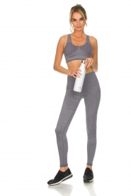 Varley |  Sports leggings with snake print Quincy Tight | grey  | Picture 3