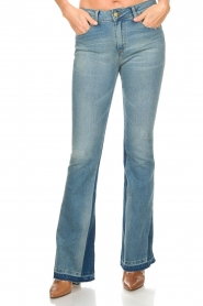Lois Jeans | Flared jeans Ravalnes | blauw  | Afbeelding 3