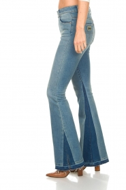Lois Jeans | Flared jeans Ravalnes | blauw  | Afbeelding 4
