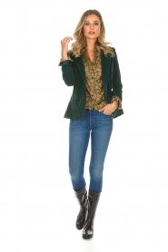 Lois Jeans |  Corduroy blazer Telma | green  | Picture 3