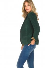 Lois Jeans |  Corduroy blazer Telma | green  | Picture 5