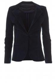 Lois Jeans |  Corduroy blazer Telma | blue  | Picture 1