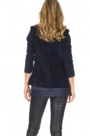 Lois Jeans |  Corduroy blazer Telma | blue  | Picture 6