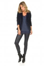 Lois Jeans |  Corduroy blazer Telma | blue  | Picture 3