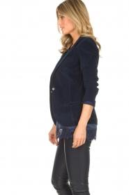 Lois Jeans |  Corduroy blazer Telma | blue  | Picture 5