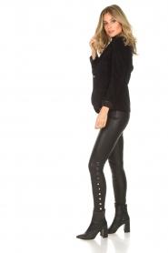 Lois Jeans |  Corduroy blazer Telma | black  | Picture 3