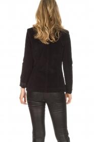 Lois Jeans |  Corduroy blazer Telma | black  | Picture 5