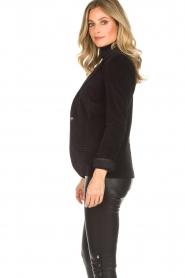 Lois Jeans |  Corduroy blazer Telma | black  | Picture 4