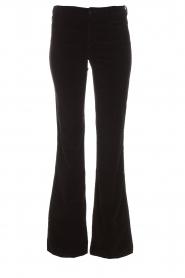 Lois Jeans |  Velvet flared jeans Rawal L34 | black  | Picture 1