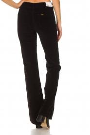 Lois Jeans |  Velvet flared jeans Rawal L34 | black  | Picture 5