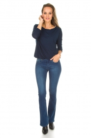 Lois Jeans |  Flared jeans Melrose L34 | blue  | Picture 3