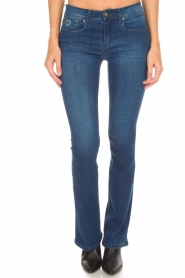 Lois Jeans |  Flared jeans Melrose L34 | blue  | Picture 2