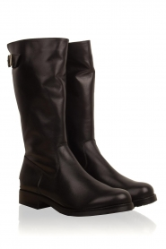 Noe |  Leather boots Nuca | black  | Picture 4