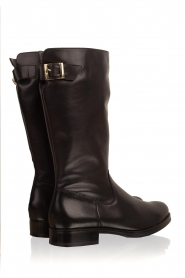 Noe |  Leather boots Nuca | black  | Picture 5