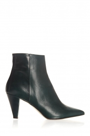 Noe |  Leather ankle boots Forest | green  | Picture 1