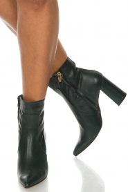 Noe |  Leather ankle boots Nipola | green  | Picture 9