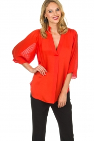 By Malene Birger | Top Sanah | rood  | Afbeelding 2