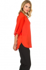 By Malene Birger | Top Sanah | rood  | Afbeelding 4