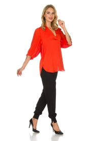 By Malene Birger | Top Sanah | rood  | Afbeelding 3