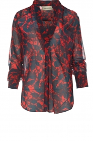 By Malene Birger |  Blouse Breeza | red  | Picture 1