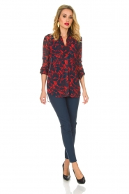 By Malene Birger |  Blouse Breeza | red  | Picture 3