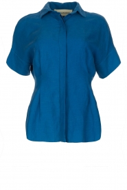 By Malene Birger | Blouse Omnific | blauw  | Afbeelding 1