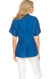 By Malene Birger | Blouse Omnific | blauw  | Afbeelding 6