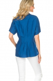 By Malene Birger | Blouse Omnific | blauw  | Afbeelding 7