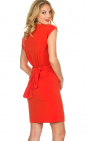 By Malene Birger |  Dress Quinnas | red  | Picture 5