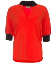 By Malene Birger | Top Billum | rood  | Afbeelding 1
