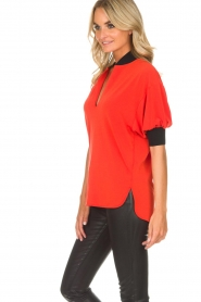 By Malene Birger | Top Billum | rood  | Afbeelding 5