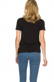 By Malene Birger | T-shirt Ottova | zwart  | Afbeelding 4