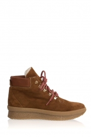Toral |  Suède ankle boots Basket | camel  | Picture 1
