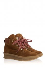 Toral |  Suède ankle boots Basket | camel  | Picture 4